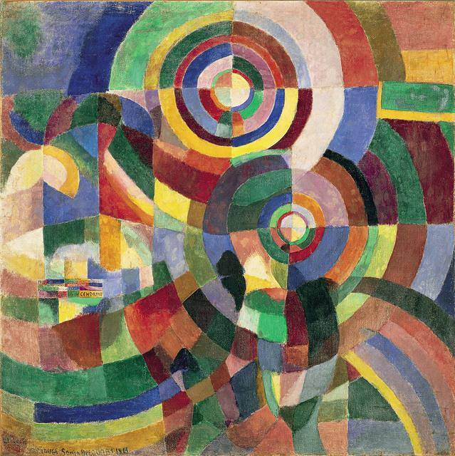 Electric Prism by Sonia Delaunay